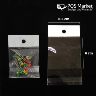 Peel and Seal Clear Plastic Bag (200/500pcs)