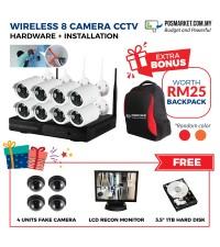 CCTV Installation Pasang CCTV 8CH KL Selangor Melaka Negeri Sembilan JB Perak Penang Kedah Wifi CCTV Camera Wireless