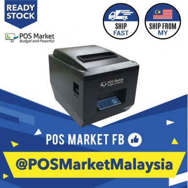 80mm Thermal Receipt Printer USB