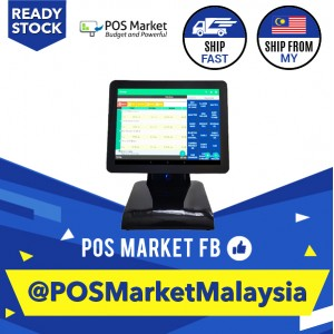 All in One Touch Screen Monitor Point of Sales Software POS System Android OS