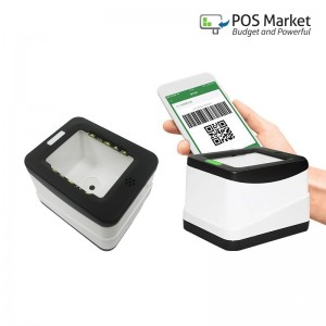 QR Code And Barcode Scanner Reader 1D 2D USB Port Mobile Payment Box