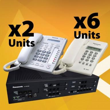 Panasonic Smart Hybrid System KX-NS300 Basic Bundle