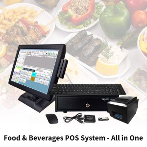 All in One Food & Beverage POS System