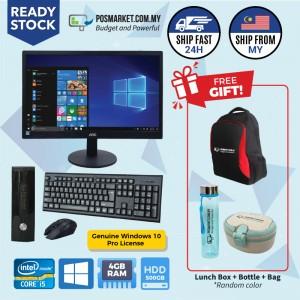 Full Set Mini PC Windows 10 Pro License