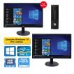 Mini PC Set Windows 10 Dual Monitor
