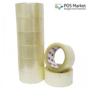OPP Tape 48mm 6 rolls OPP Clear Tape OPP Transparent Tape Adhesive Tape Selefon Tape