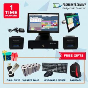 Food & Beverage POS System + Order Station + Report Printer