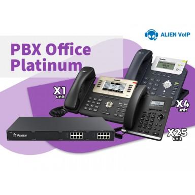 Office Platinum Bundle Call Center IP PBX IP Phone Ready Stock