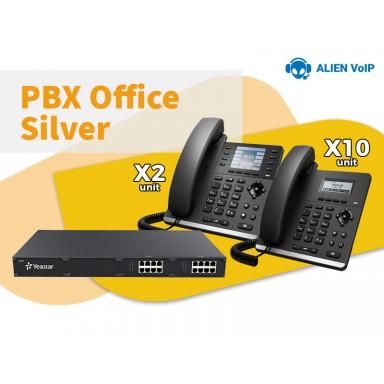 Office Silver Bundle Call Center IP PBX IP Phone Ready Stock