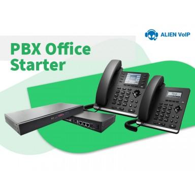 Office Starter Bundle Call Center IP PBX IP Phone Ready Stock