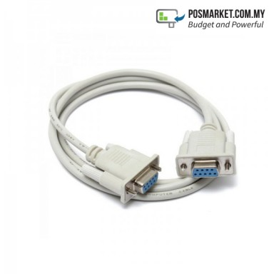 Serial RS232 DB9 9Pin Female to Female Cable
