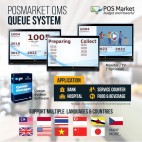 Queue System QMS POSMarket