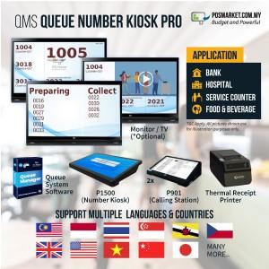 QMS Queue Number Kiosk Pro Queue System