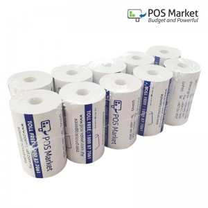 Thermal Receipt Paper 57mm x 15m Coreless 10 rolls